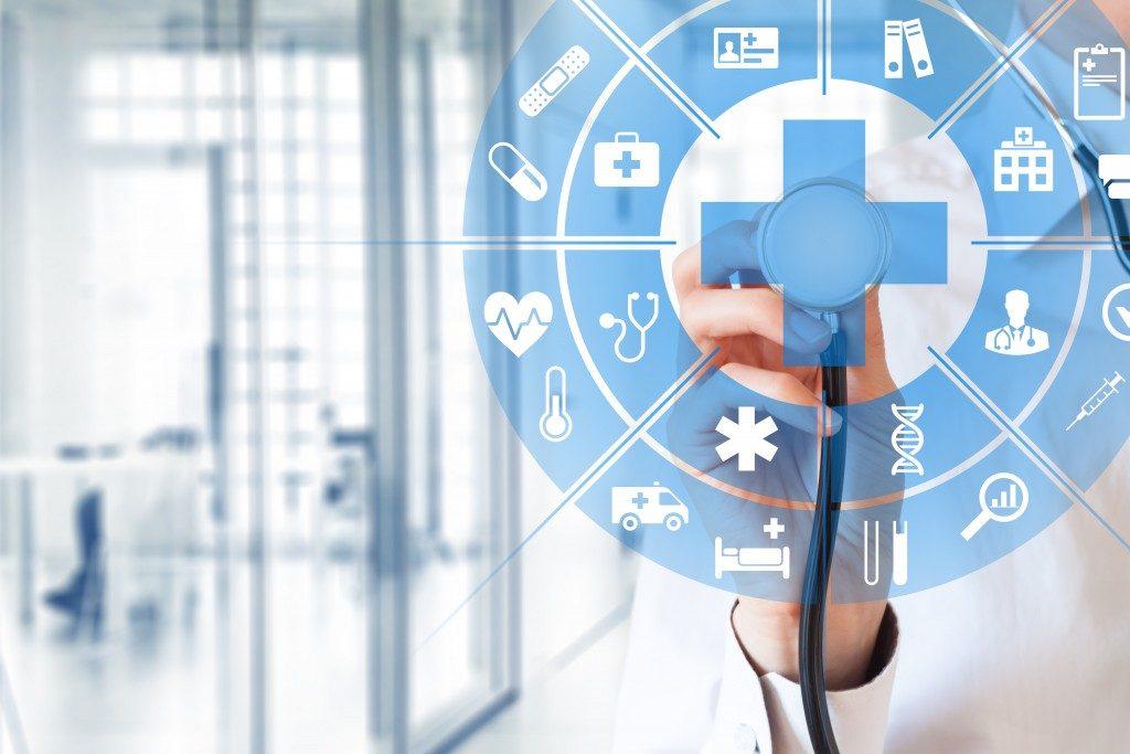 Healthcare online concept