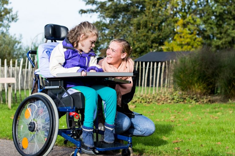 interacting with disabled sibling